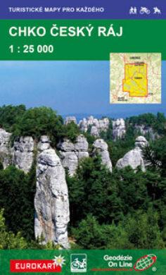 Český ráj / cykloturistická mapa 1:25 000(9788087380857)