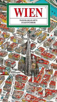 Vídeň / panoramatická mapa  německy(9788090251984)