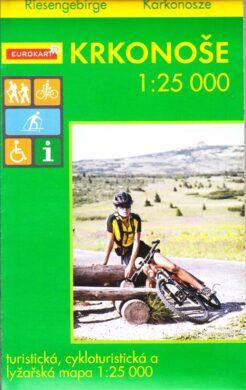 Krkonoše / cykloturistická mapa 1:25 000(9788090462311)