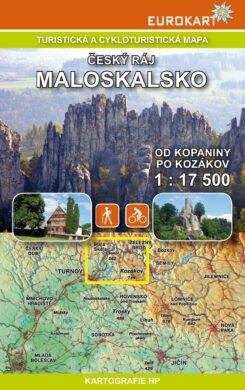 Český ráj - Maloskalsko / cykloturistická mapa 1:17 500(9788090462335)