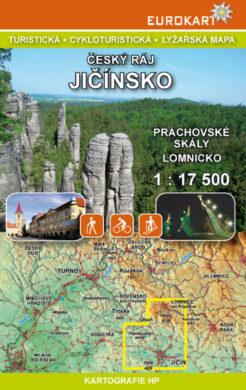 Český ráj - Jičínsko / cykloturistická mapa 1:17 500(9788090462342)