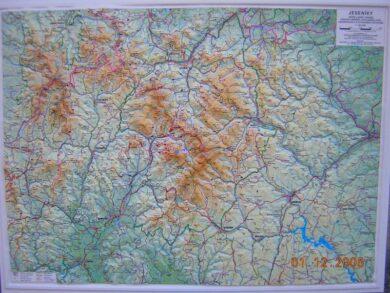 Jeseníky / plastická mapa  1:80 000(X274)