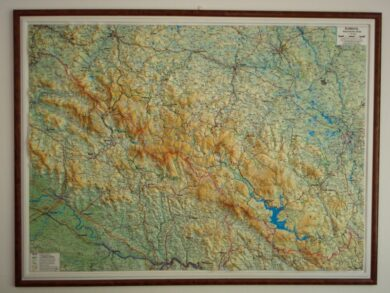 Šumava / plastická mapa  1:140 000(X279)