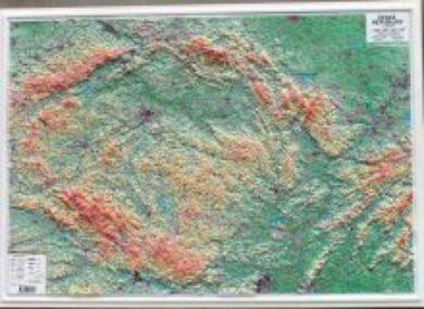 Česká republika / plastická mapa 1:500 000(X280)