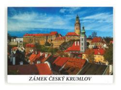 Leporelo Český Krumlov zámek-Populární devítiobrázkové leporelo stématem krumlovského zámku.