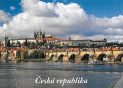 Leporelo Česká republika-Populární devítiobrázkové leporelo sfotografiemi pamětihodností České republiky