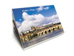 Leporelo Praha-Populární devítiobrázkové leporelo snejzajímavějšími pražskými památkami