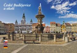 Leporelo České Budějovice-Devítiobrázkové leporelo