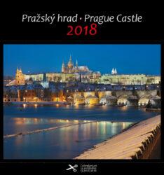 Pražský hrad / pohl. kal. na rok 2018-Kalendář je možno zavěsit na stěnu i postavit na stůl. Jednotlivé listy lze použít jako pohlednice.