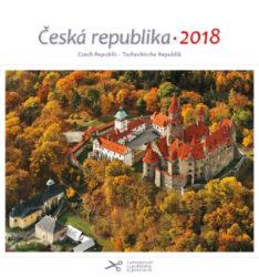Česká republika / pohl. kal. na rok 2018-Kalendář je možno zavěsit na stěnu i postavit na stůl. Jednotlivé listy lze použít jako pohlednice.