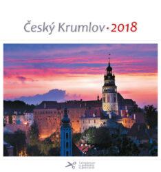 Český Krumlov - červánek / pohl. kal. na rok 2018-Kalendář je možno zavěsit na stěnu i postavit na stůl. Jednotlivé listy lze použít jako pohlednice.