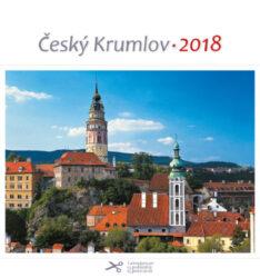 Český Krumlov - věže / pohl. kal. na rok 2018-Kalendář je možno zavěsit na stěnu i postavit na stůl. Jednotlivé listy lze použít jako pohlednice.