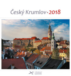 Český Krumlov - zámek / pohl. kal. na rok 2018-Kalendář je možno zavěsit na stěnu i postavit na stůl. Jednotlivé listy lze použít jako pohlednice.