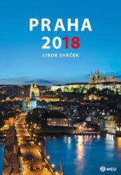 Kalendář Praha nástěnný 2018 - střední formát     MCU