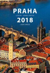 Kalendář Praha letecky nástěnný 2018 - střední formát     MCU