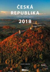 Kalendář ČR letecky nástěnný 2018 - střední formát     MCU