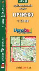 Lipensko / cykloturistická mapa č. 2  1:55 000-3. aktualizované vydání