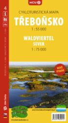 Třeboňsko / cykloturistická mapa č. 4  1:55 000