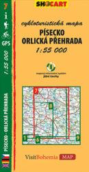 Písecko / cykloturistická mapa č. 7  1:55 000