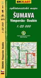 Šumava - Vimpersko, Boubín / cykloturistická mapa č. 2  1:25 000