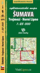 Šumava - Trojmezí, Horní Lipno / cykloturistická mapa č. 3  1:25 000