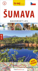 """Šumava / kapesní průvodce-Příroda, technické památky, města a obce, historie Šumavy – vše v praktickém """"průvodci do kapsy""""."""