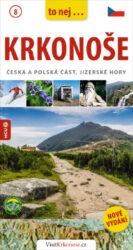 """Krkonoše, Jizerské hory / kapesní průvodce-To nejzajímavější zKrkonoš a Jizerských hor vmoderním turistickém """"průvodci do kapsy""""."""