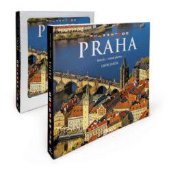 Praha letecky / kniha L. Sváček-Reprezentativní kniha fotografií Libora Sváčka, představujících Prahu zneobvyklé, úchvatné ptačí perspektivy.