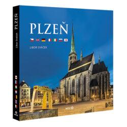 Plzeň / kniha L. Sváček-Reprezentativní kniha fotografií Libora Sváčka, věnovaná metropoli Plzeňského kraje.