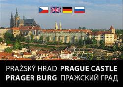 Pražský hrad / kniha L.Sváček - mini formát-Kniha fotografií Libora Sváčka v kolibřím vydání (74 x 52 mm, 23 g).
