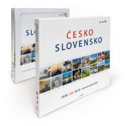 Česko Slovensko 100 let / kniha-Obrazová publikace ve stému výročí založení Československa zachycující významné události od roku 1918 do 2018.