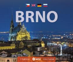 Brno - kniha L.Sváček malý formát      MCU
