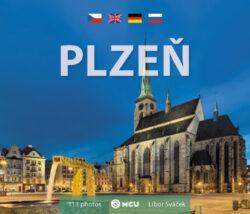 Plzeň / kniha L.Sváček - malý  formát-Kniha fotografií Libora Sváčka, věnovaná metropoli Plzeňského kraje.