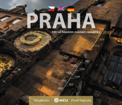 Praha / kniha P. Radosta - malý formát-Matka měst opět jinak – tentokrát objektivem Pavla Radosty.