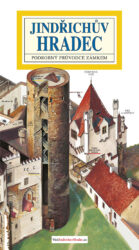 Jindřichův Hradec / panoramatická mapa-Kreslená panoramatická mapa Jindřichova Hradce s ilustrovaným průvodcem