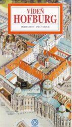 Hofburg / panoramatická mapa-Kreslená panoramatická mapa zámku Hofburg s podrobným ilustrovaným průvodcem