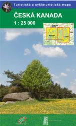 Česká Kanada / cykloturistická mapa 1:25 000