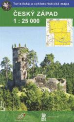 Český západ / cykloturistická mapa 1:25 000