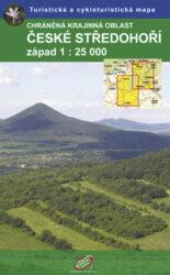 České Středohoří / cykoturistická mapa 1:25 000