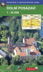 Dolní Posázaví / cykloturistická mapa 1:25 000