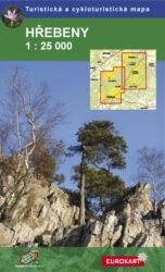 Hřebeny / cykloturistická mapa 1:25 000