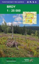Brdy / cykoturistická mapa 1:25 000