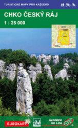 Český ráj / cykloturistická mapa 1:25 000-3. vydání