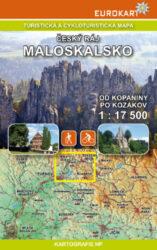 Český ráj - Maloskalsko / cykloturistická mapa 1:17 500