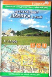 Jizerské hory a západní Krkonoše / cykloturistická mapa 1:17 500 / 1:50 000(X356)